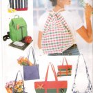 Pattern Butterick 4968 Bag - Tote - Purse - Sport Bag 90s UNCUT