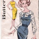 Vintage Pattern Butterick 9630 Sheath Dress - Jumper and Blouse 60s Size 11 B31.5