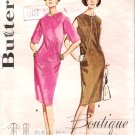 Vintage Pattern Butterick 2997 Misses Diagonally Seamed Dress 60s Size 14 B34