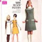 Vintage Pattern Simplicity 7825 Jr Teen Jumper 60s Size 11-12