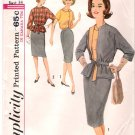 Vintage Pattern Simplicity 5102 Suit and Blouse 60s Size14 B34