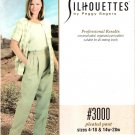 Pattern Silhouettes 3000 Pleated Pants Size 4-18 and 14W-28W UNCUT