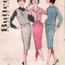 Vintage Pattern Butterick 9077 Misses's Coordinates Outfits Early 60s Size 12 B32
