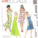 Pattern McCalls 4444 Miss Halter Dress Size 12-18 UNCUT