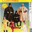 Costume Pattern McCall's P219 Childrens, Kids Heroes Size 2-3 UNCUT