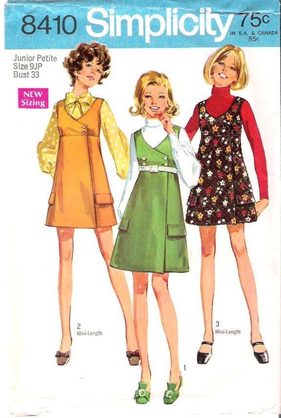 Vintage Pattern Simplicity 8410 Jumper 60s Size 9jp B33 UNCUT