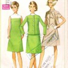 Vintage Pattern Simplicity 7437 Dress and Jacket 60s Size 16 B38