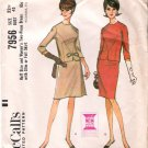 Vintage Pattern McCall's 7956 Top and Slim and A Line Skirt 60s Plus Size 22.5 B43