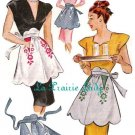 Repro Vintage Half Apron 40's PDF Pattern No 32 Available in M - L - XL