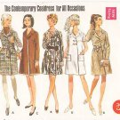 Vintage Pattern Butterick 5209 Misses' Coatdress 60s Size 12 B34