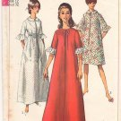 Vintage Pattern Simplicity 6796 Robe 60s Size 12 B32 UNCUT