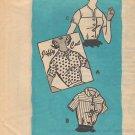 Vintage Pattern Mail Order 9435 Blouses Variation 60s Size 12 B32 UNCUT