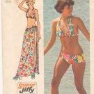 Vintage Pattern Simplicity 5644 Bikini and Wrap Skirt 70s Size 14 B34-36