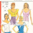 Pattern Burda 5413 Top Variations 90s Size 8-16