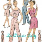Repro Vintage Pattern Pajama or Playsuit 50s No 2 on Printable PDF B34