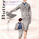 Vintage Pattern Butterick 9920 Misses' Three-Pieces Skirt, Blouse and Jacket 60s Size 12 B32
