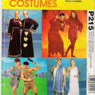 Costume  Pattern McCall's P215 Adult All Size UNCUT