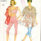 Pattern New Look 6717 Legging, Top and Blouse Size 6-16