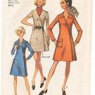 Vintage Pattern Simplicity 8982 Front Wrap Dress 70s Size 12 B34 UNCUT