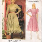 Vintage Pattern Vogue Designer 1069 Bellville Sassoon Dress 80s Size 8 Uncut