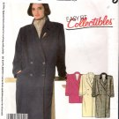 Vintage Pattern McCalls 2180 Misses Coat or Car Coat 80s Size 8 UNCUT