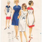 Vintage Pattern Butterick 3996 Day Dress 60s Teen Size 14 B34 UNCUT