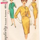 Vintage Pattern Simplicity 4173 Sheath Dress and Jacket 60s Size 9 B30.5 UNCUT
