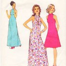 Vintage Pattern Style 3751 Evening Dress 70s Size 10 B32.5