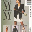 Pattern McCall's 5137 NY Collection Jacket - Bolero Jacket and Dress 90s Size 10 B32.5 UNCUT