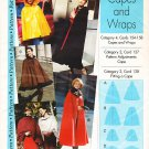Pattern from Sewing Step-by -Step Misses&#39; Capes and Wraps 90s All Sizes XS - XL UNCUT