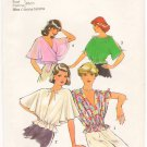 Vintage Pattern Style 2000 Misses&#39; set of tops 70s Size10 B32.5 UNCUT