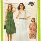 Vintage Pattern Simplicity 8233 Sundress with Shawl 70s Size 12 B34