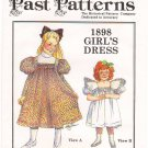 Historic Past Patterns 1662 - 1898 Girls' Dress 90s Size 2-8 UNCUT