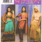 Pattern Simplicity 4249 Misses' Oriental Costumes Size 14-20 B36-42 UNCUT
