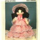 Pattern Dollcraft 201 Heritage Family Scarlet 80s UNCUT