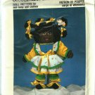 Pattern Dollcraft 304 Cuddle Kids Sunshine 80s UNCUT