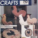 Vintage Pattern McCall's 8829 Rooster Package 80s All Size UNCUT