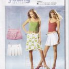 Pattern Burda Young 8175 Skirts Low Waist Size All UNCUT