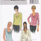 Pattern Butterick 3968 Women Pullover Tops Size 6-8