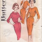 Vintage Pattern Butterick 9102 Tailored Dress 50s Size 12 B32