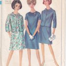 Vintage Pattern Simplicity 6978 Dress and Jacket 60s Size 40 B42