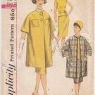 Vintage Pattern Simplicity 3787 Walking Suit 60s Size 12 B32 UNCUT