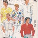 Vintage Pattern McCall's Men's Shirts 80s Size Chest 38 UNCUT