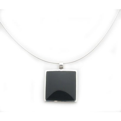 Black Onyx Pendant Necklace