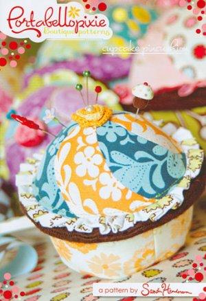 Sandi Henderson's Portabellopixie Cupcake Pincushion Pattern
