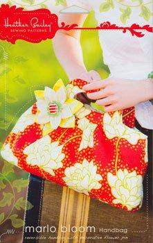 Heather Bailey sewing patterns Marlo Bloom Handbag Pattern