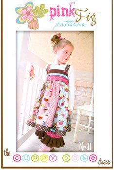 Pink Fig Patterns Cuppy Cake Dress PFP 11