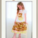 Pink Fig Patterns Girly Skirt PFP 04
