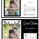25 CUSTOM Wedding Save The Date Gift Photo MAGNETS