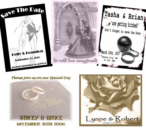 25 CUSTOM Wedding Save The Date Gift MAGNETS
